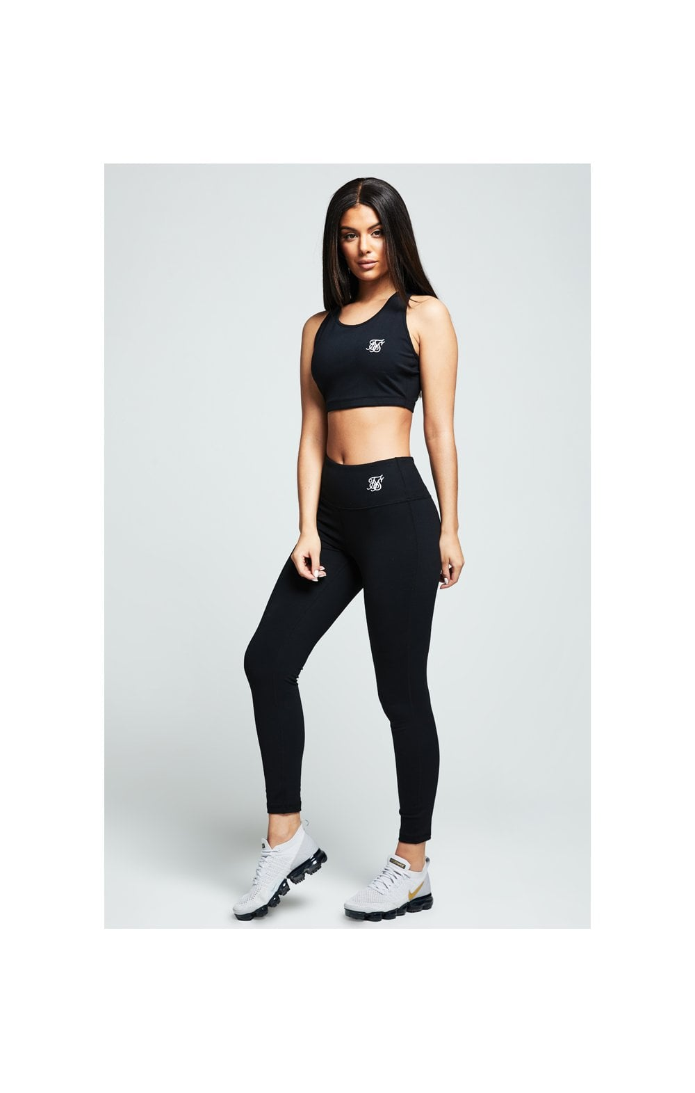 SikSilk Gym Bralette - Black (2)