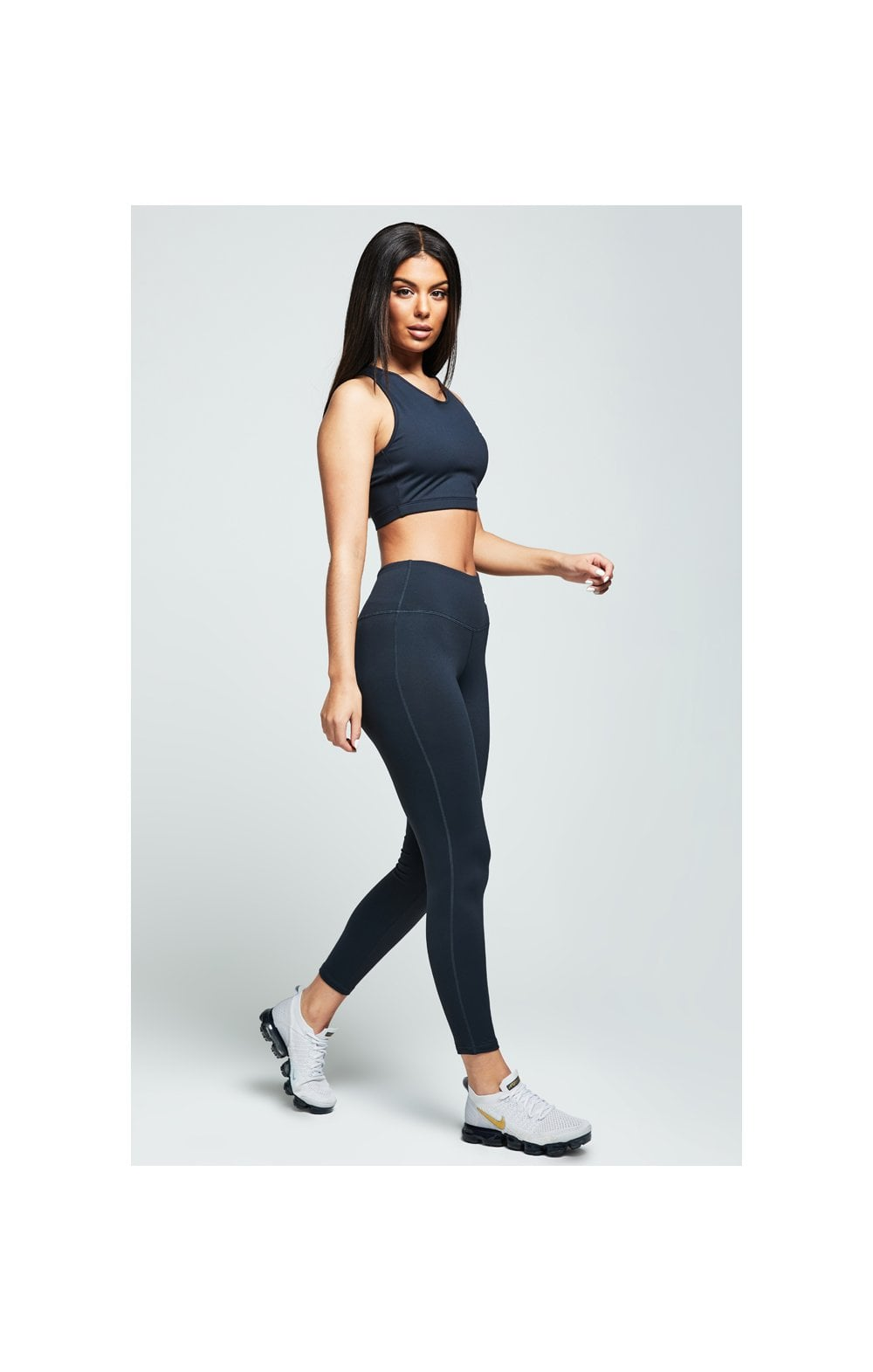Load image into Gallery viewer, SikSilk Gym Leggings – Charcoal (2)