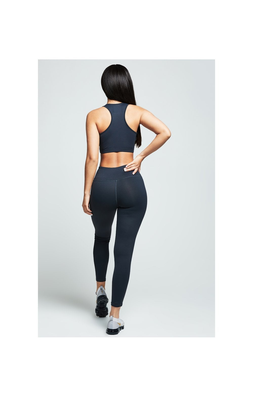 Load image into Gallery viewer, SikSilk Gym Leggings – Charcoal (3)