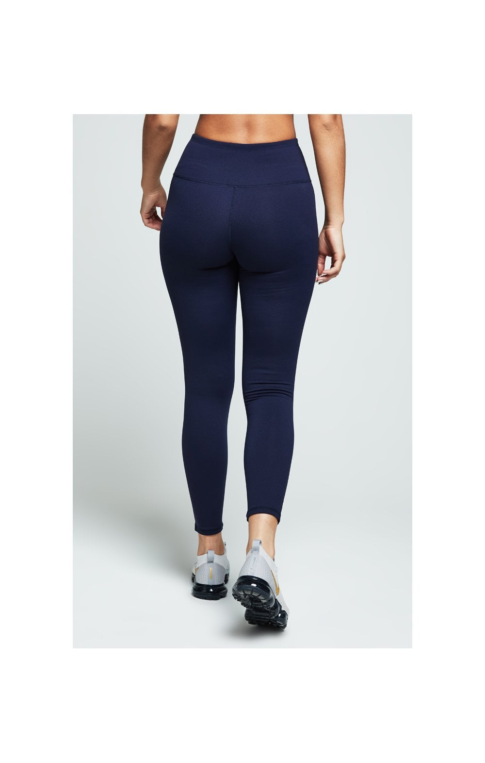 Load image into Gallery viewer, SikSilk Gym Leggings – Navy (2)