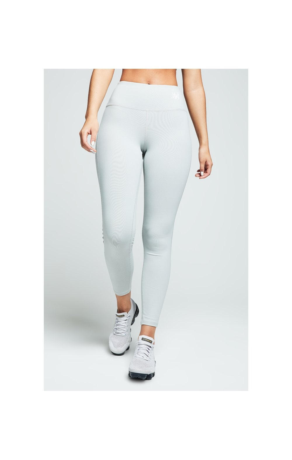 SikSilk Gym Leggings – Grey