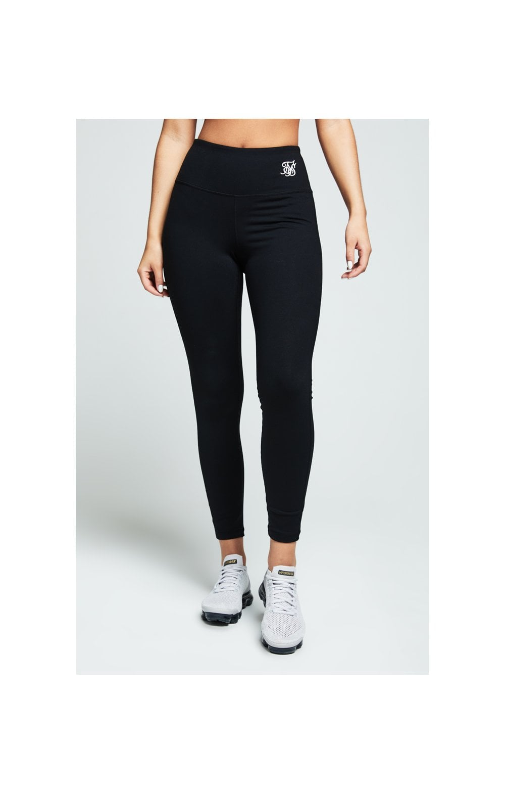 SikSilk Gym Leggings – Black