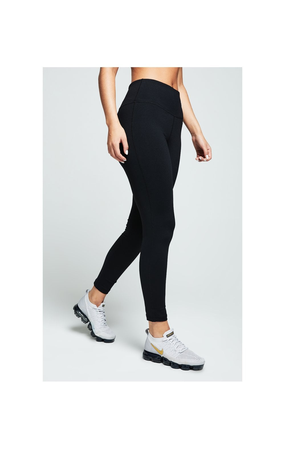 Load image into Gallery viewer, SikSilk Gym Leggings – Black (2)