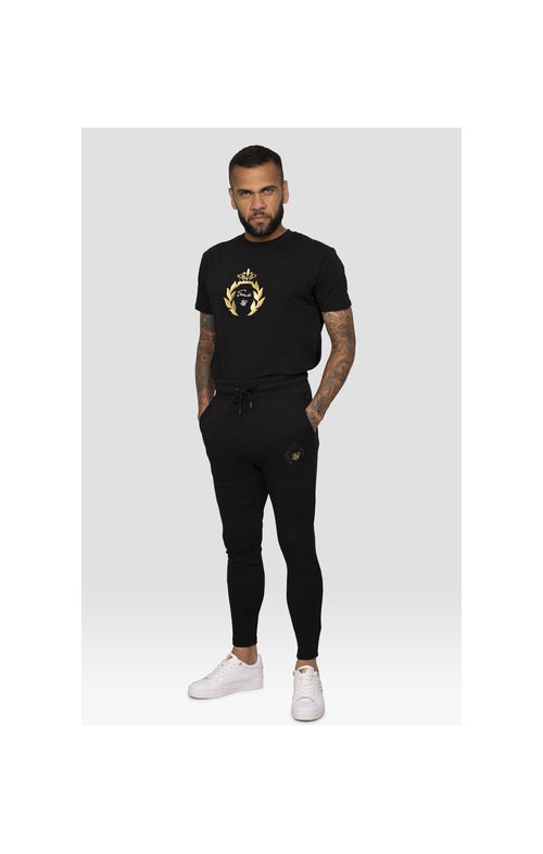SikSilk x Dani Alves Athlete Track Pants – Black