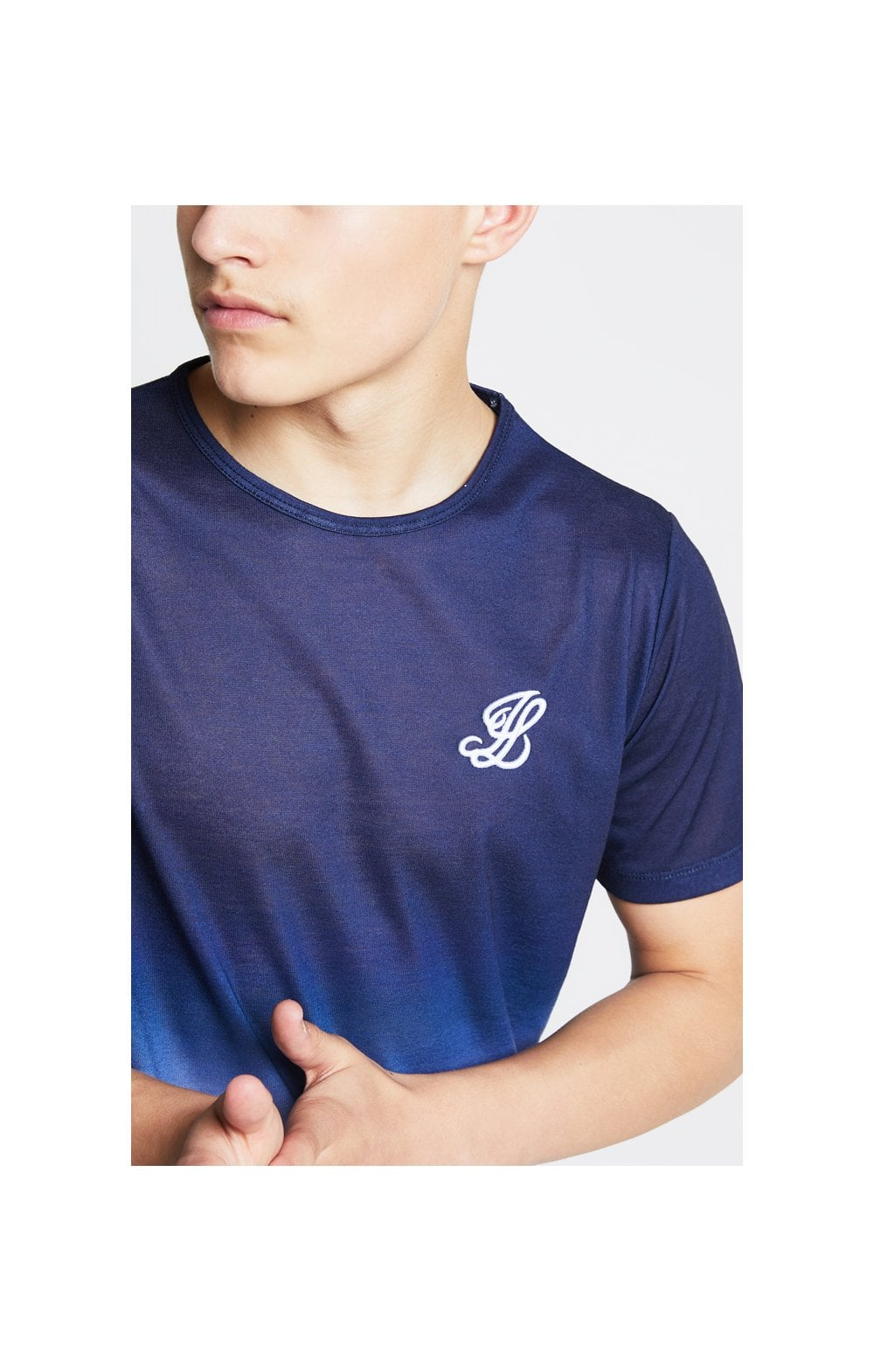 Illusive London Fade Tee - Navy & White (1)