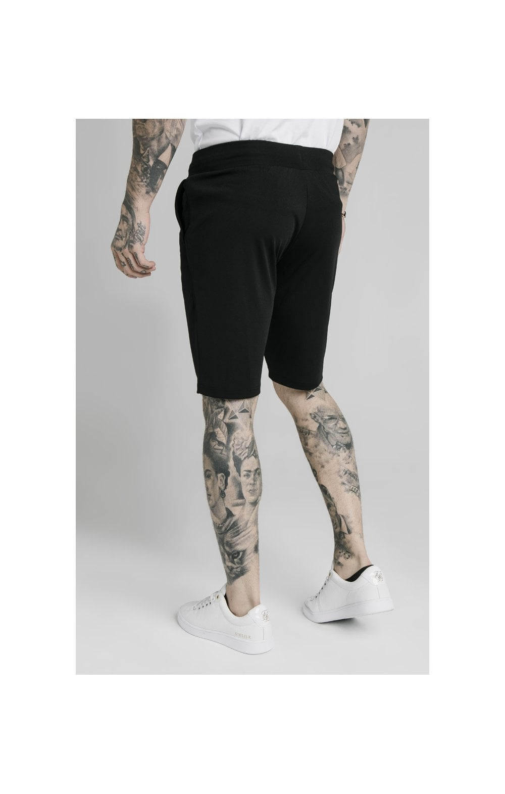 Load image into Gallery viewer, SikSilk Scope Zonal Shorts - Black & Gold (2)