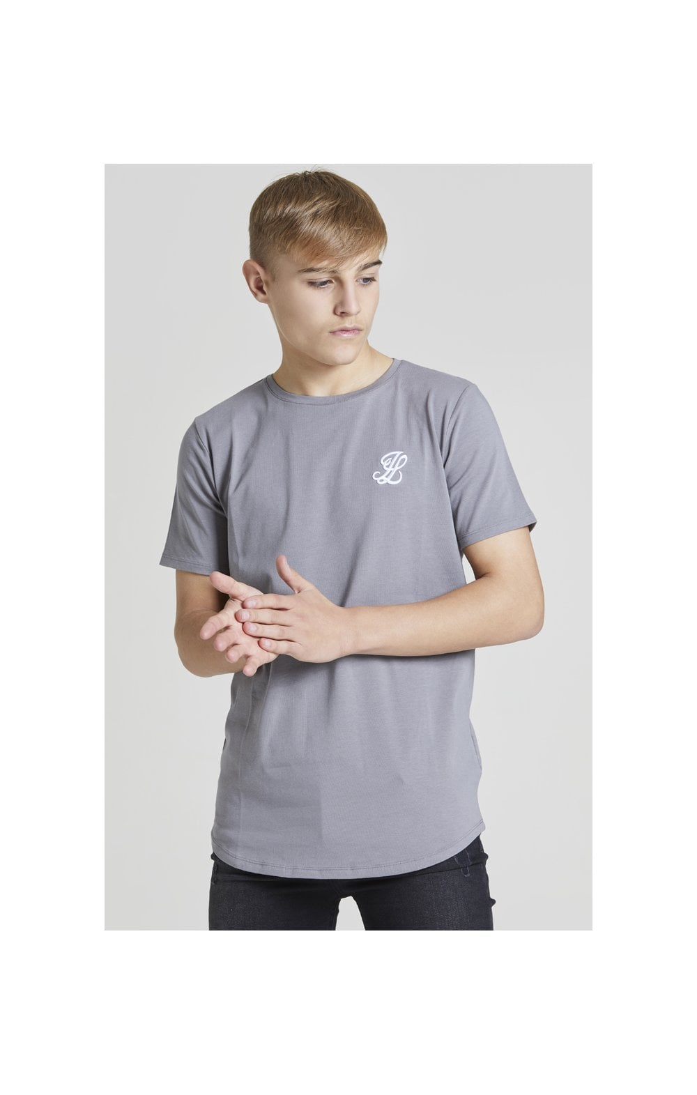 Illusive London S/S Core Tee - Grey (1)