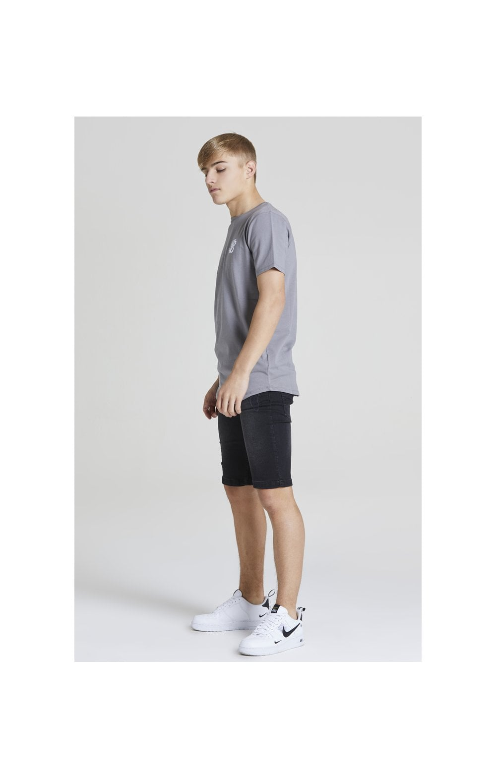 Illusive London S/S Core Tee - Grey (2)