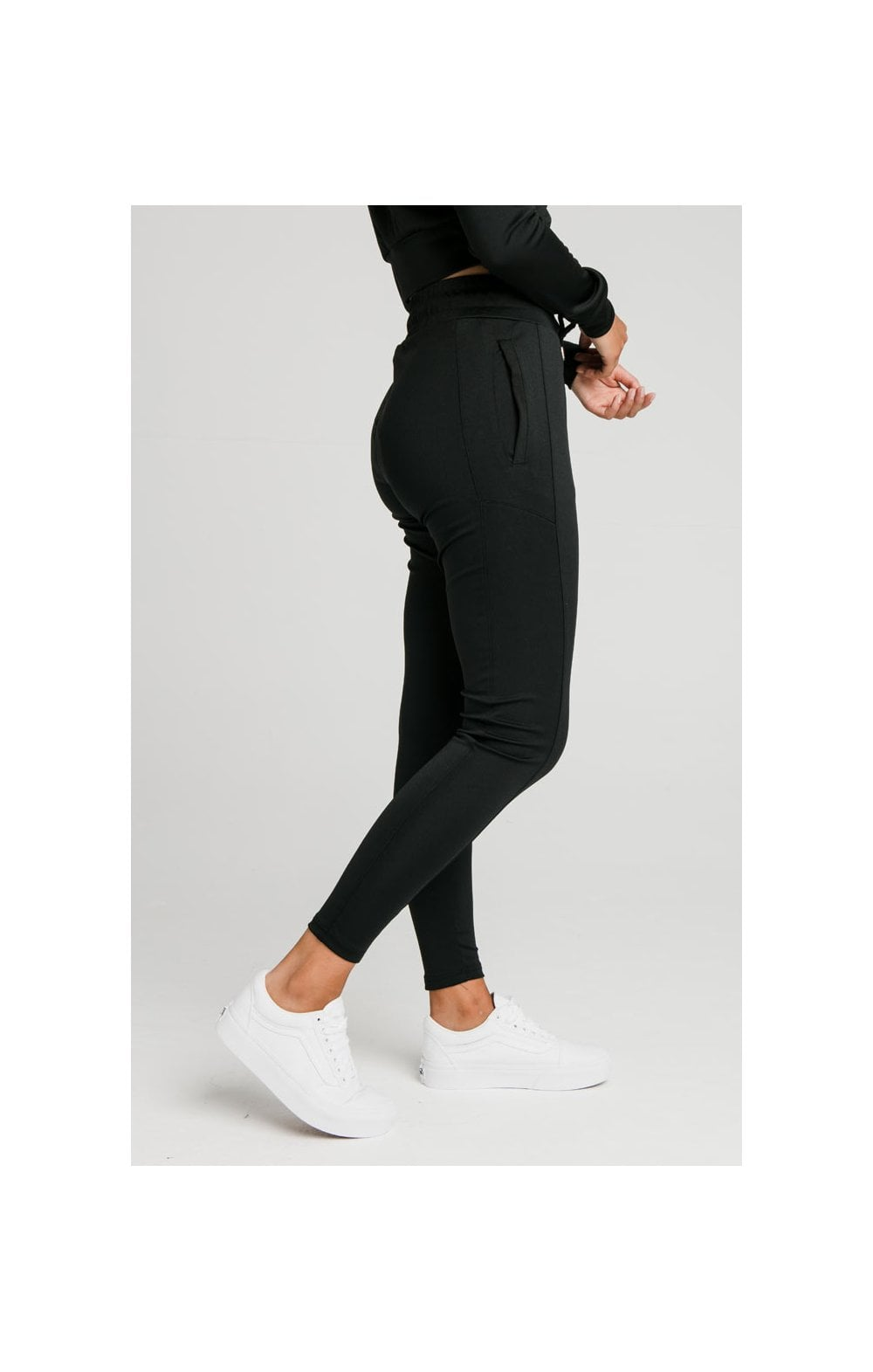 SikSilk Zonal Track Pants – Black (1)