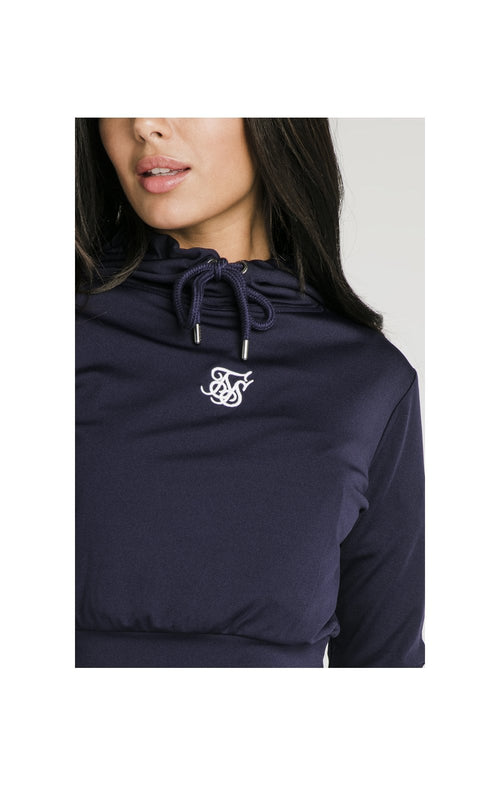 SikSilk Zonal Track Top - Navy