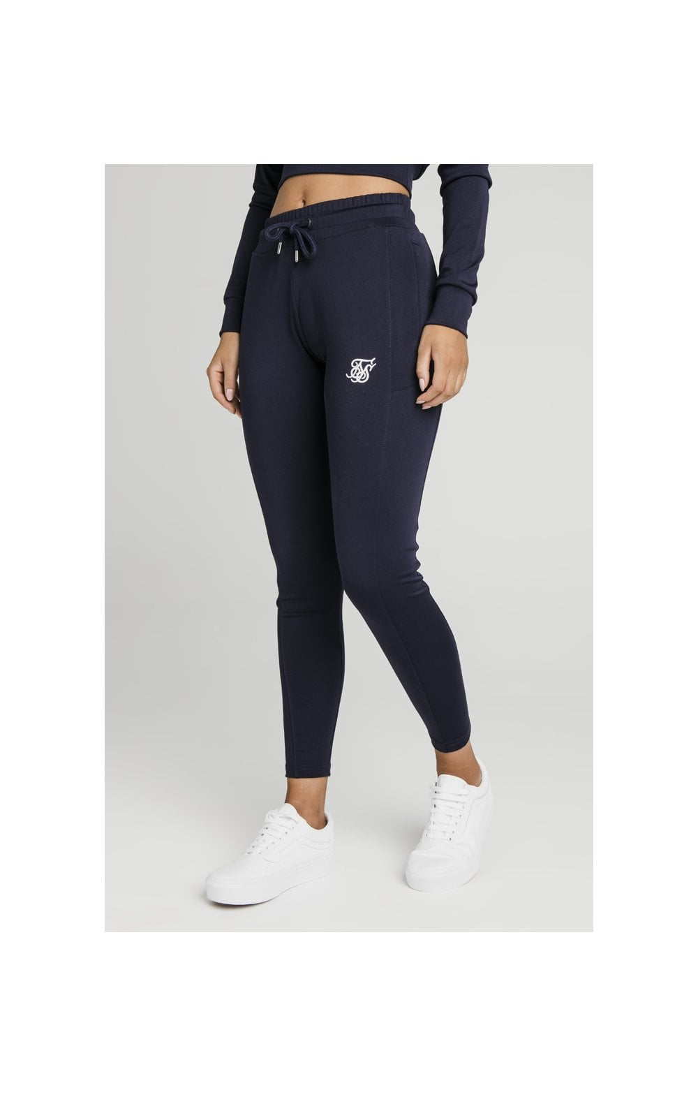 SikSilk Zonal Track Pants – Navy