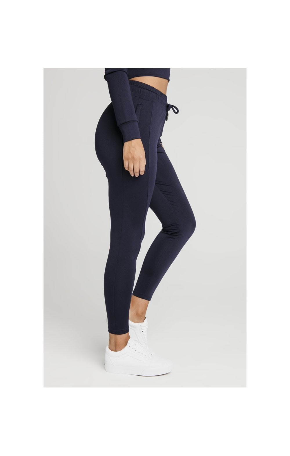 SikSilk Zonal Track Pants – Navy (2)