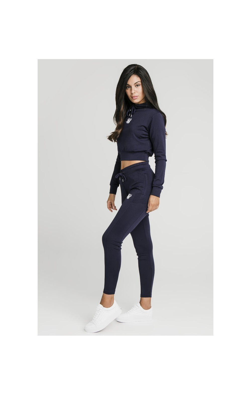 SikSilk Zonal Track Pants – Navy (3)