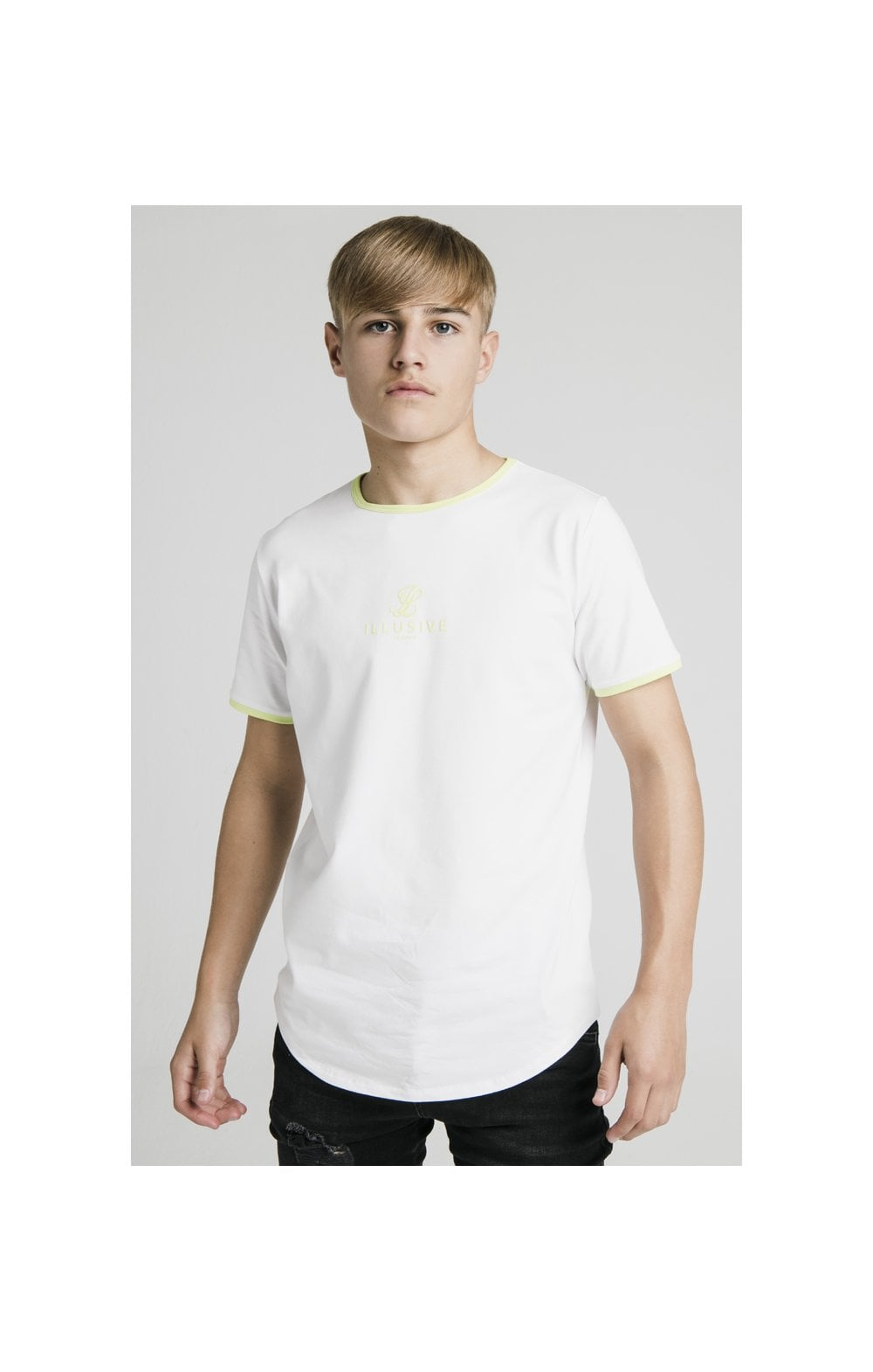 Load image into Gallery viewer, Illusive London Logo Tee - White