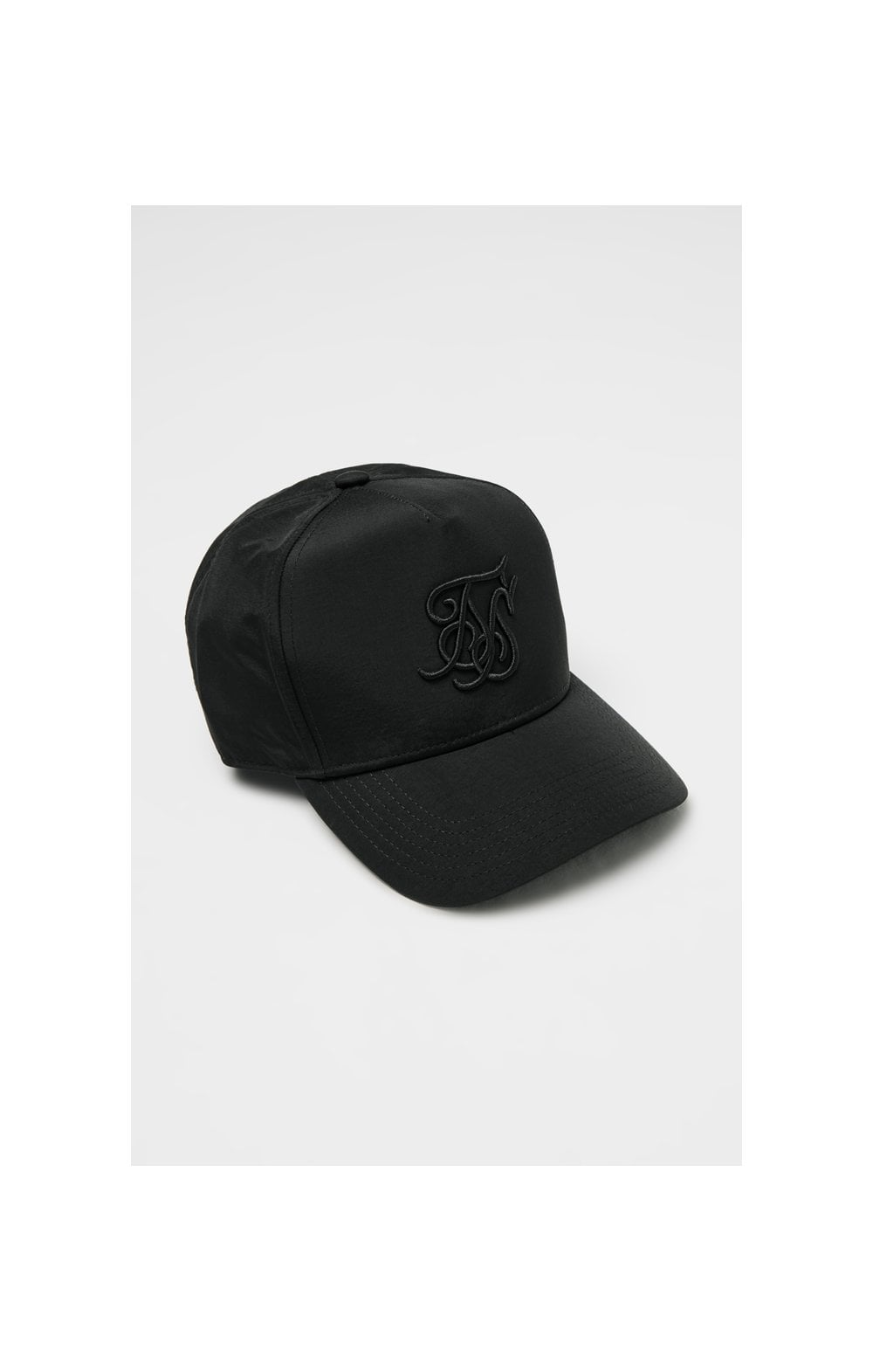 Load image into Gallery viewer, SikSilk Crushed Nylon Full Trucker - Black