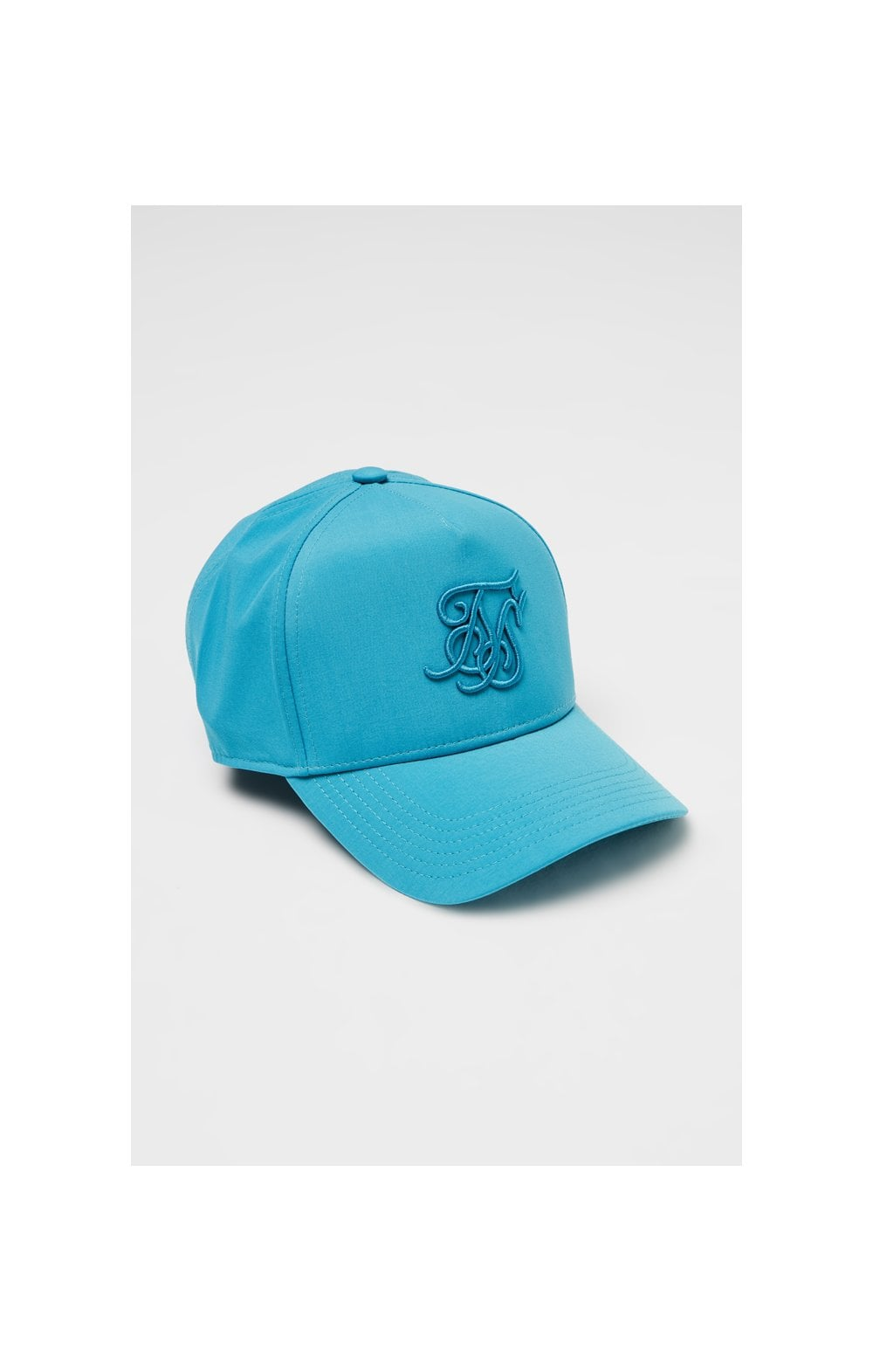 SikSilk Crushed Nylon Full Trucker - Teal