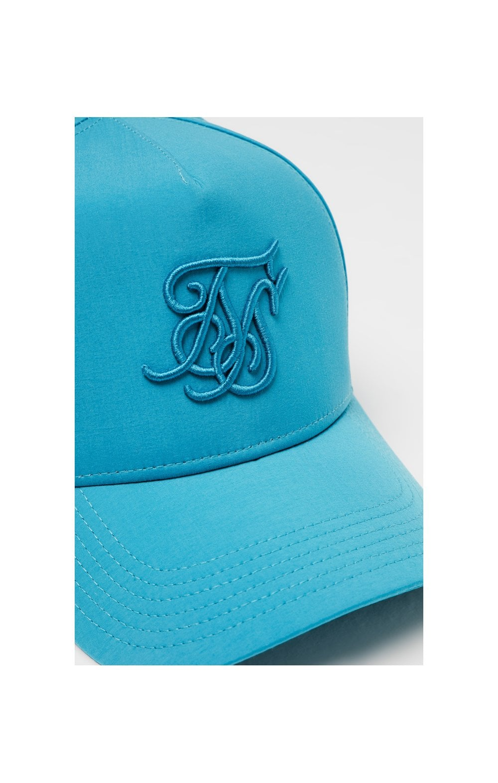 Load image into Gallery viewer, SikSilk Crushed Nylon Full Trucker - Teal (1)