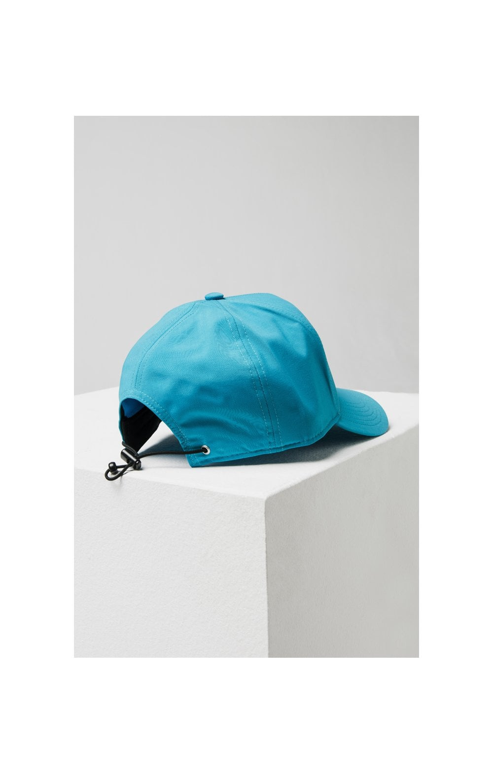 Load image into Gallery viewer, SikSilk Crushed Nylon Full Trucker - Teal (3)