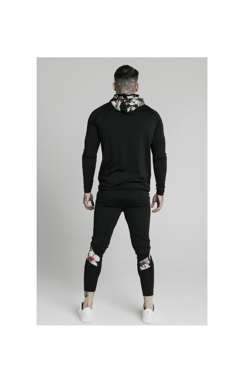 SikSilk Scope Zip Through Hoodie - Black (5)
