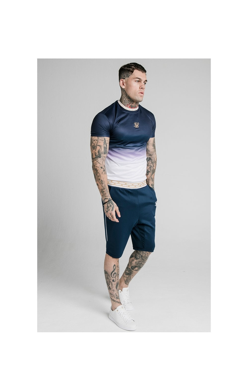 Load image into Gallery viewer, SikSilk Scope Agility Shorts - Navy (1)