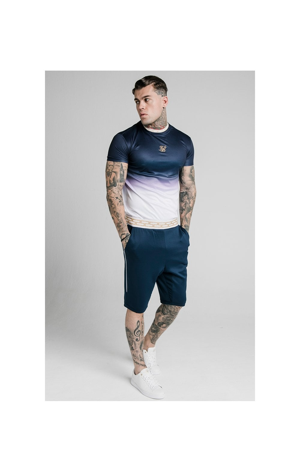 Load image into Gallery viewer, SikSilk Scope Agility Shorts - Navy (2)