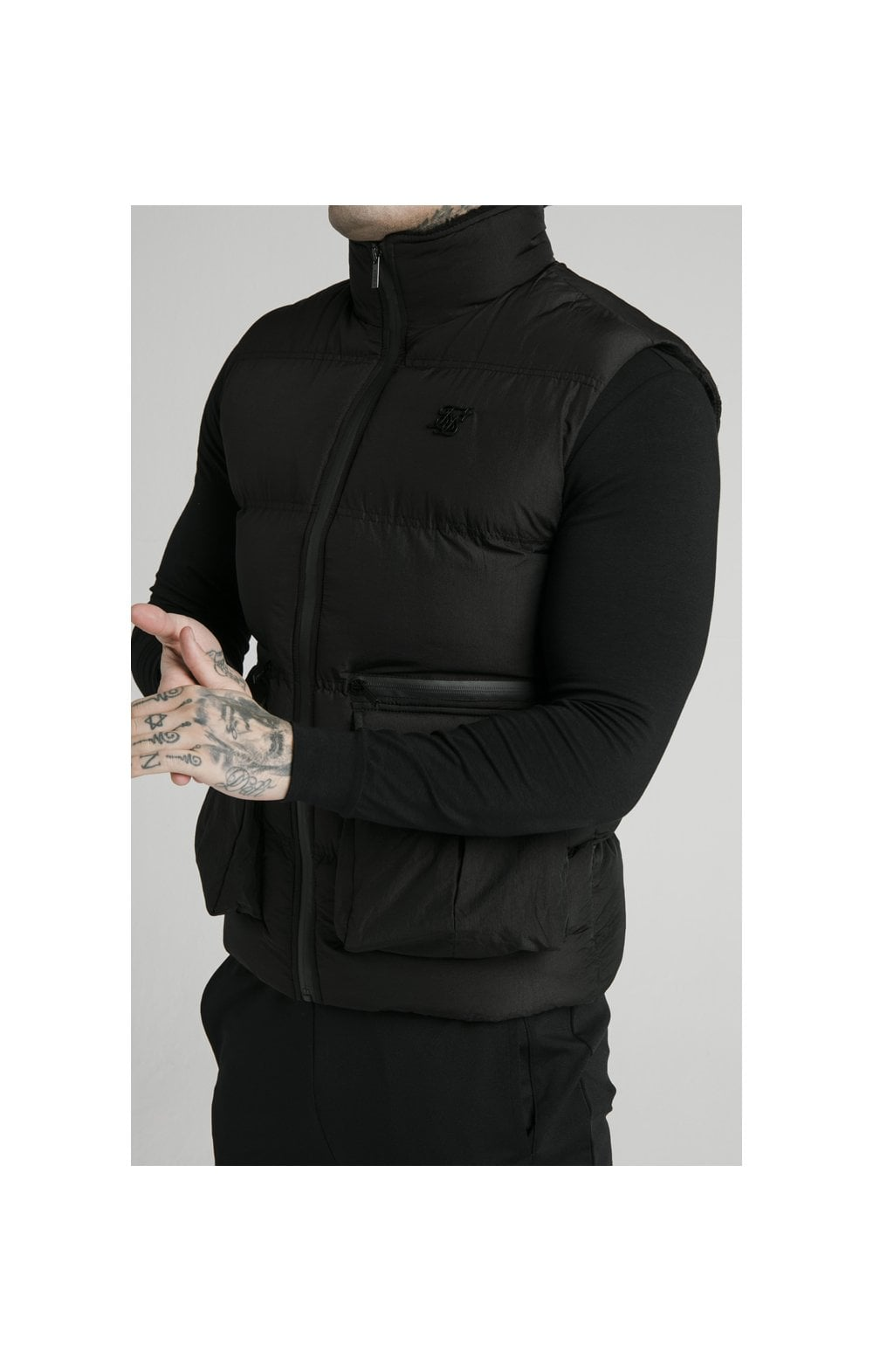 Load image into Gallery viewer, SikSilk Gilet - Black