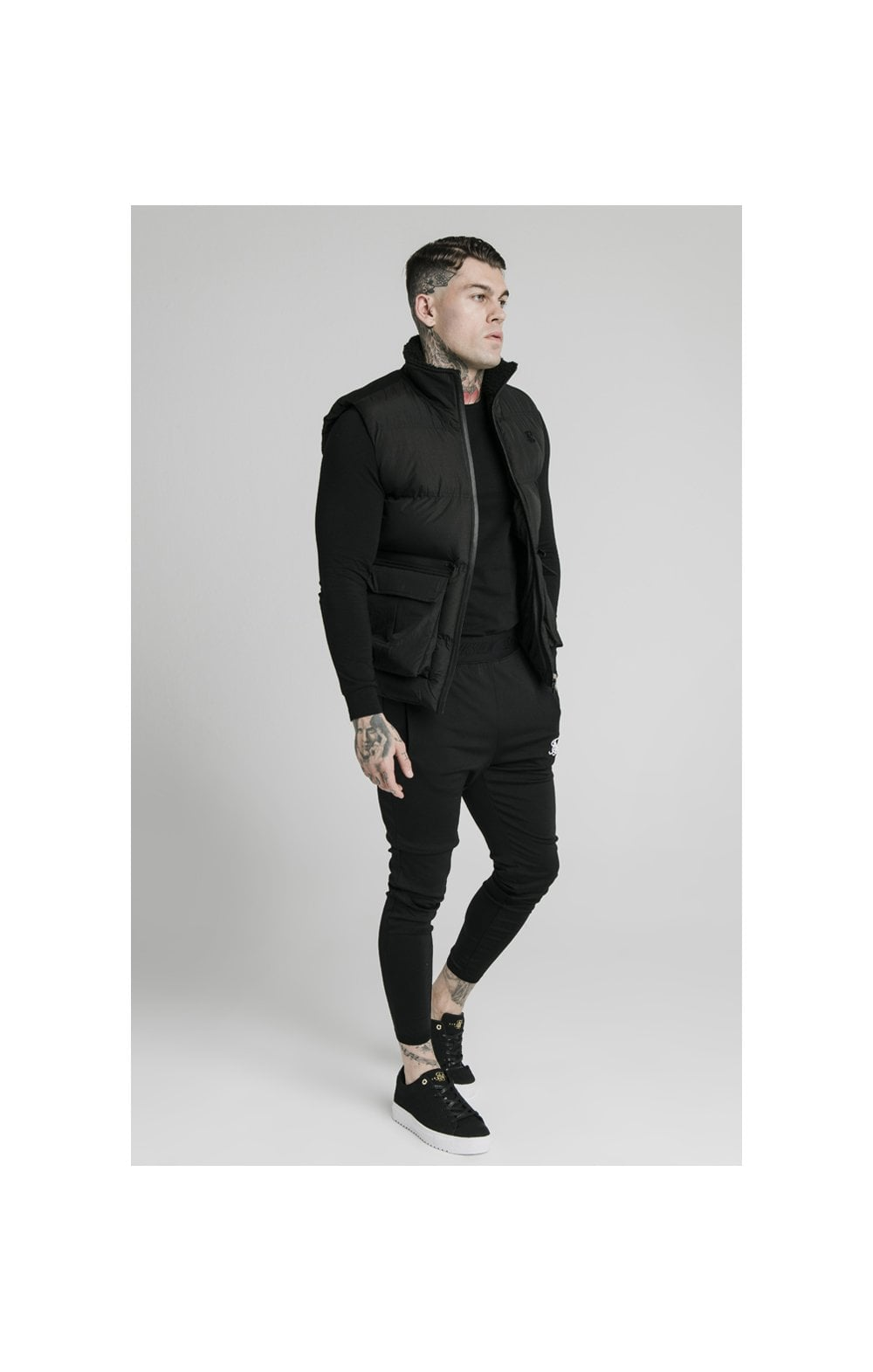Load image into Gallery viewer, SikSilk Gilet - Black (2)