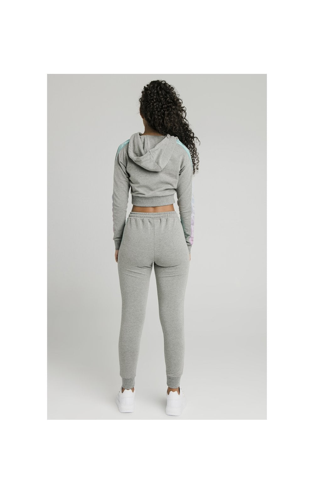 Load image into Gallery viewer, SikSilk Fade Runner Track Pants ��� Grey Marl (9)