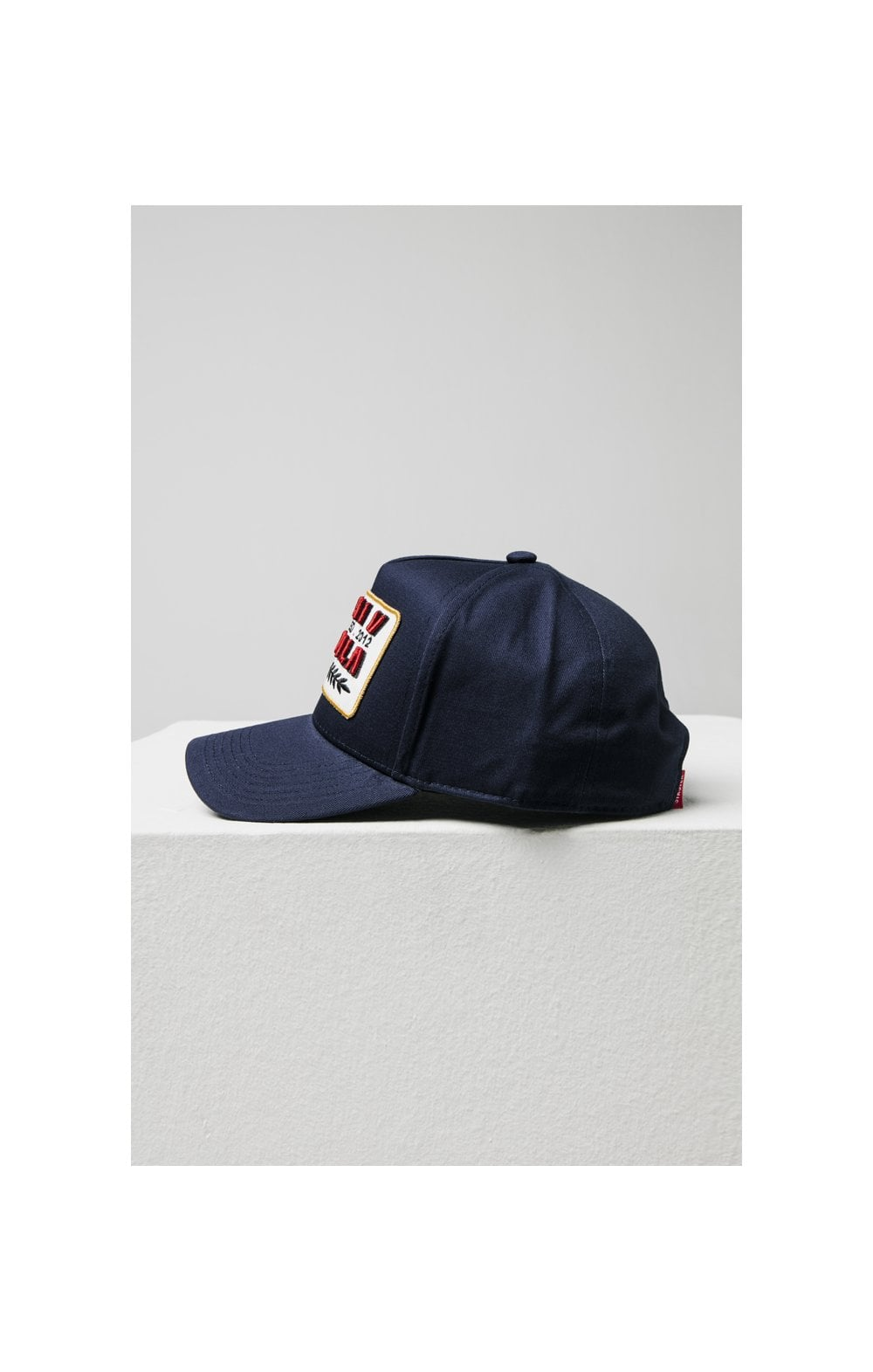 SikSilk Patch Full Trucker - Navy (3)