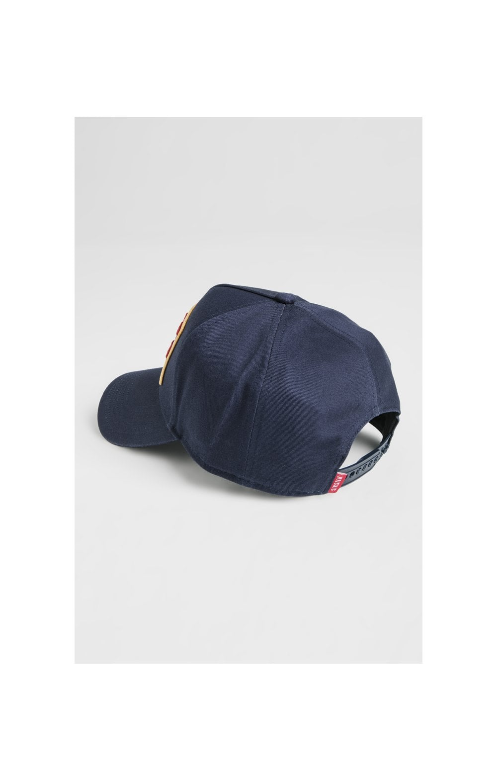 SikSilk Patch Full Trucker - Navy (4)