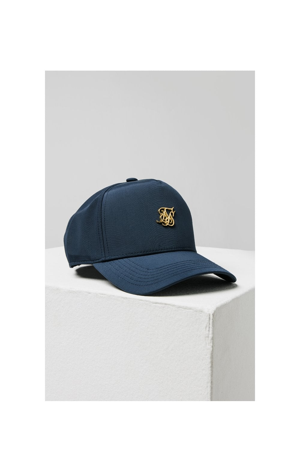 SikSilk Full Trucker - Navy (2)
