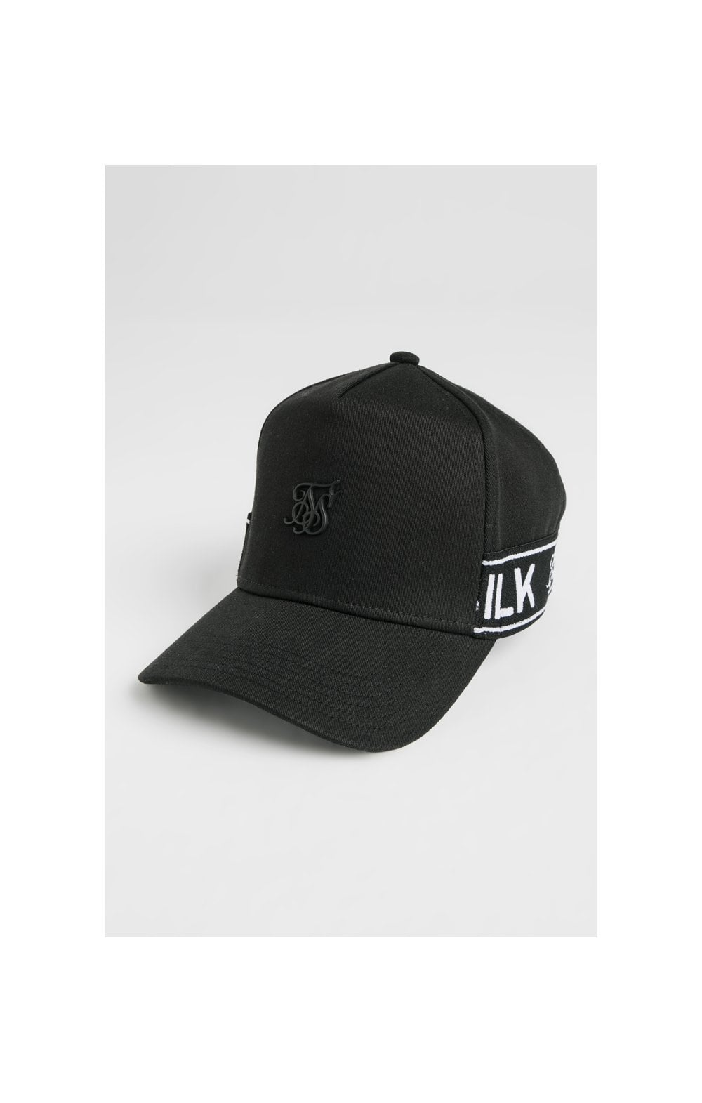 SikSilk Stretch Fit Full Trucker - Black