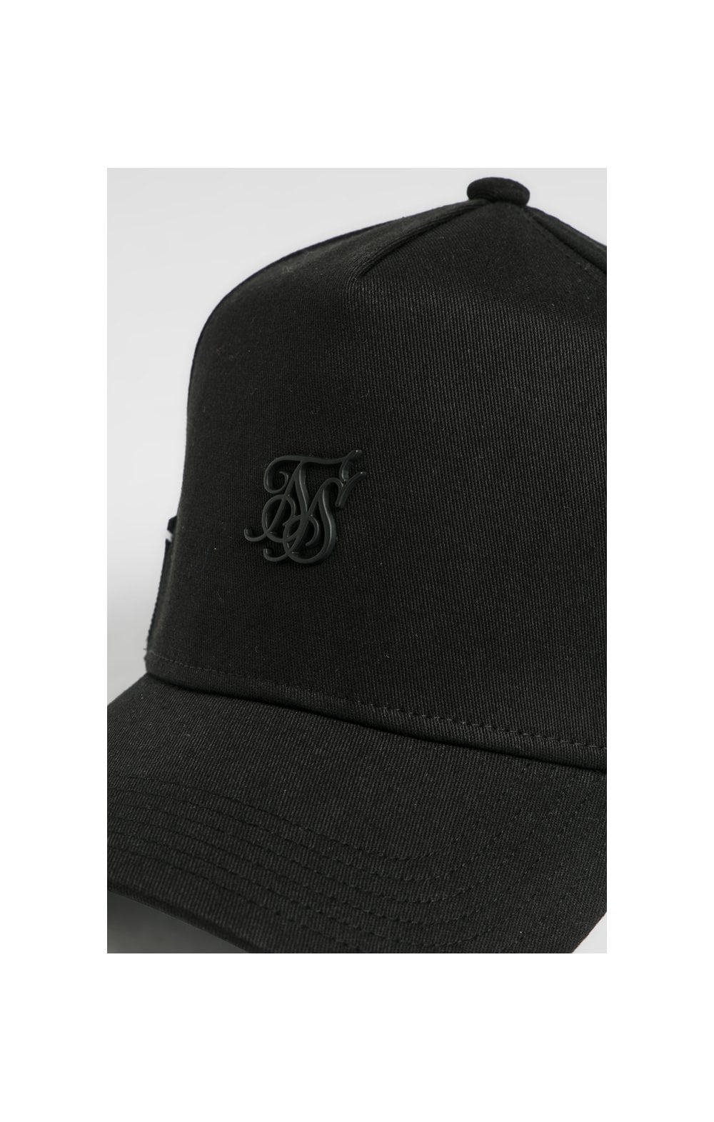 SikSilk Stretch Fit Full Trucker - Black (1)