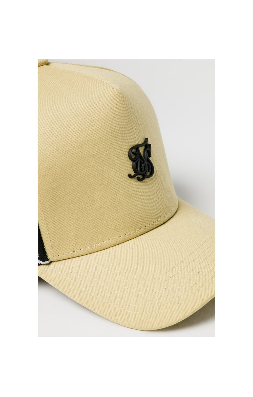SikSilk Stretch Fit Full Trucker - Mustard (3)