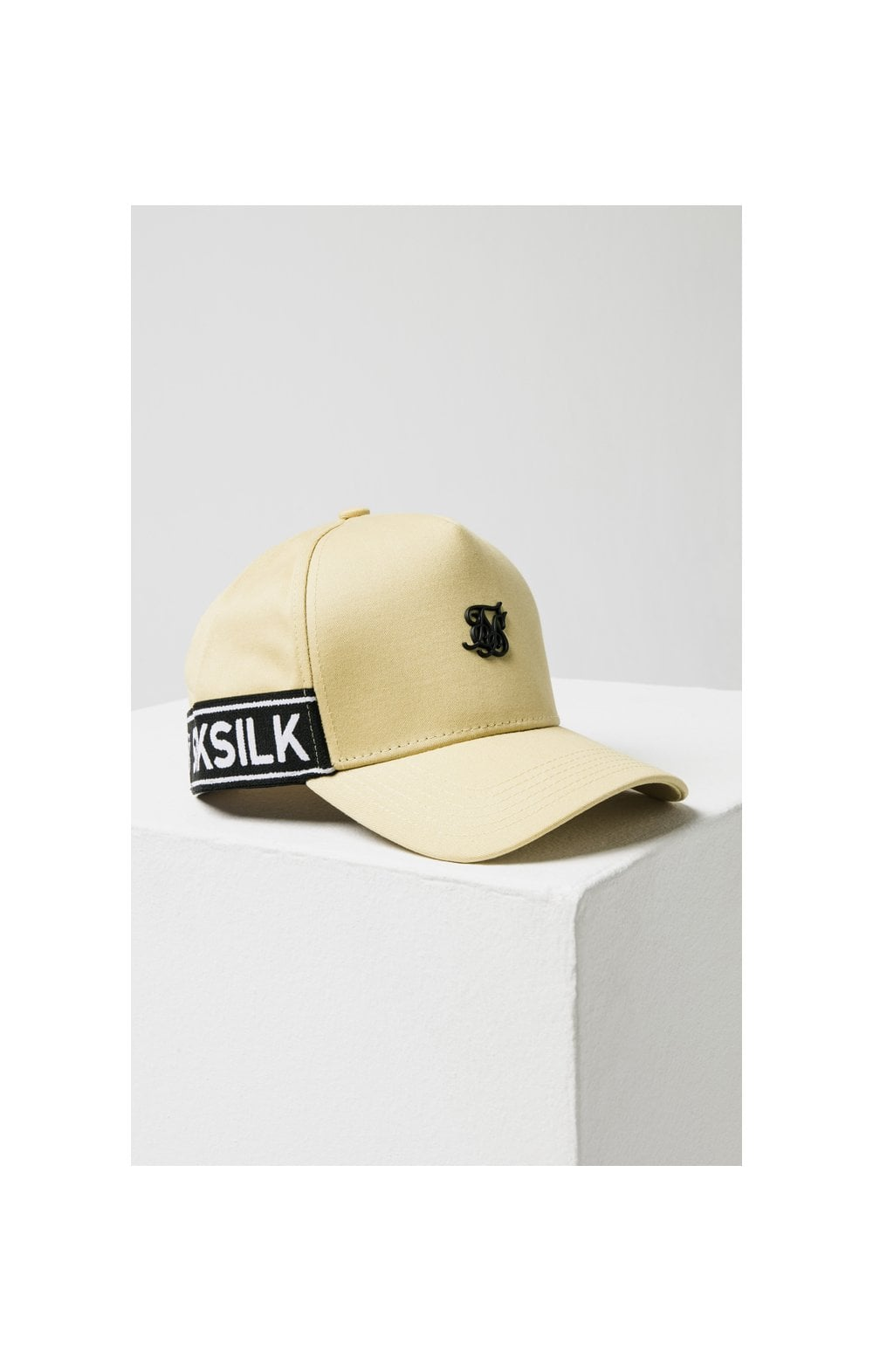 SikSilk Stretch Fit Full Trucker - Mustard (4)