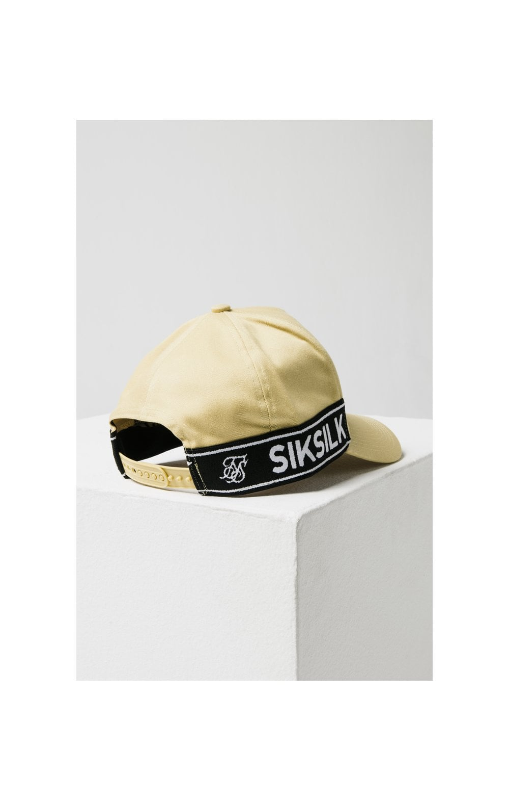 SikSilk Stretch Fit Full Trucker - Mustard (5)