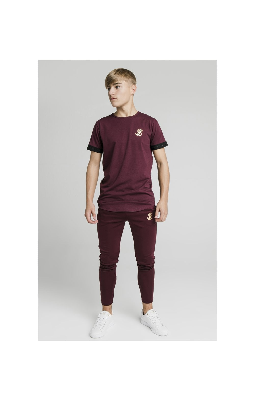 Illusive London Agility Track Pants - Burgundy (4)