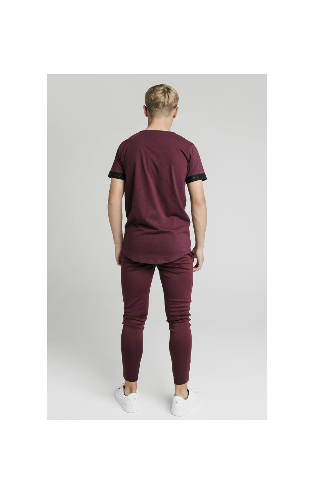 Illusive London Agility Track Pants - Burgundy (7)