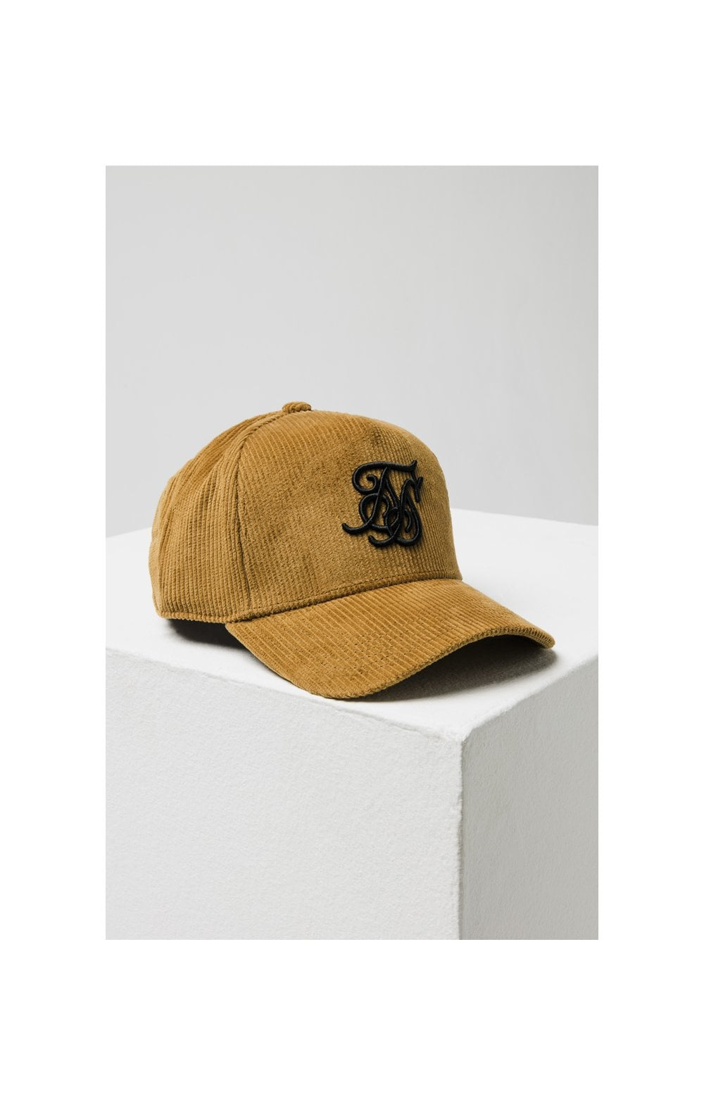 Load image into Gallery viewer, SikSilk Corduroy Full Trucker - Mustard (2)