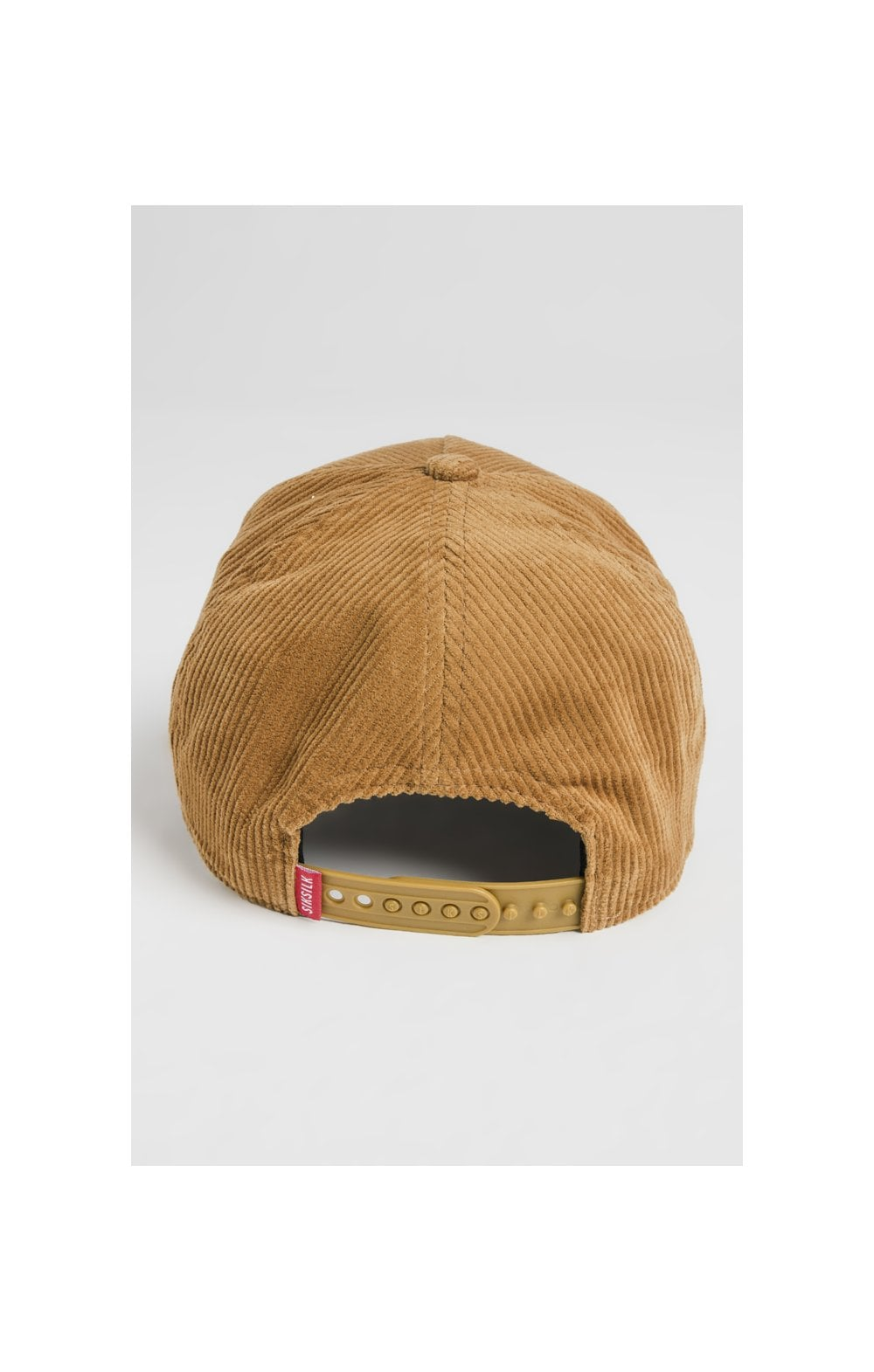 Load image into Gallery viewer, SikSilk Corduroy Full Trucker - Mustard (5)