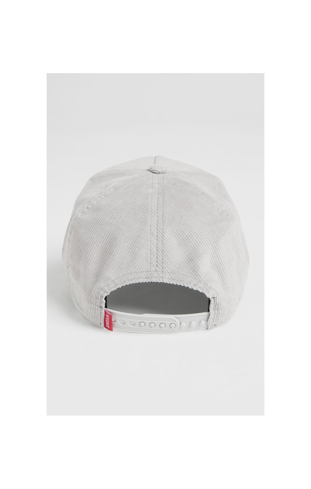 SikSilk Corduroy Full Trucker - Light Grey (6)