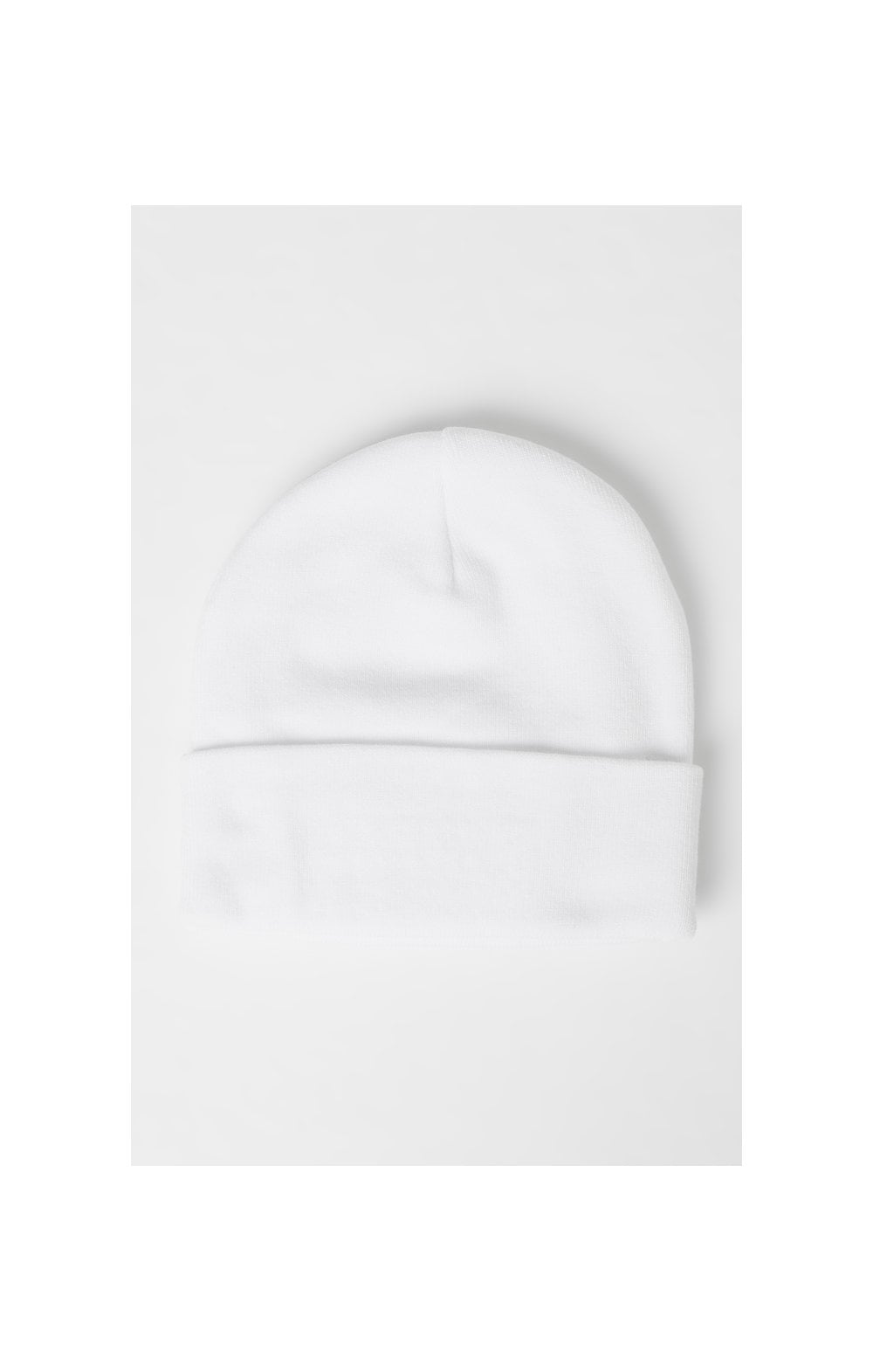 SikSilk Patch Beanie - White (3)