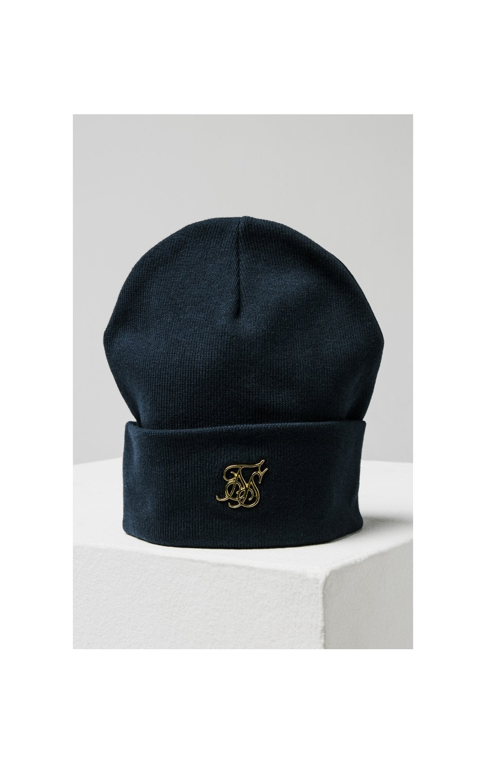 Load image into Gallery viewer, SikSilk Beanie - Navy (3)