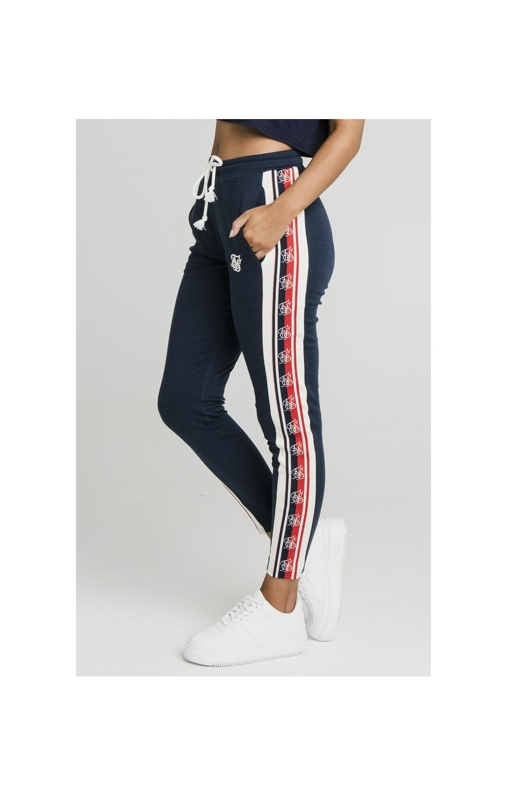 SikSilk Classic Tape Jogger - Navy