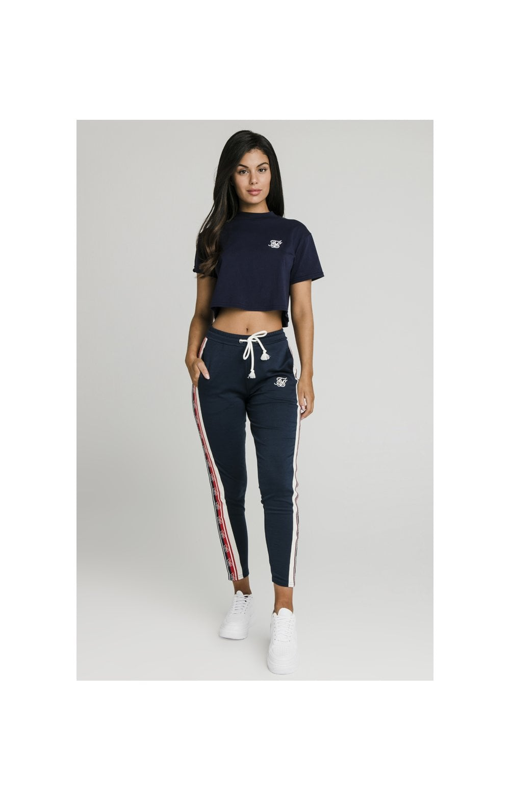 SikSilk Classic Tape Jogger - Navy (3)