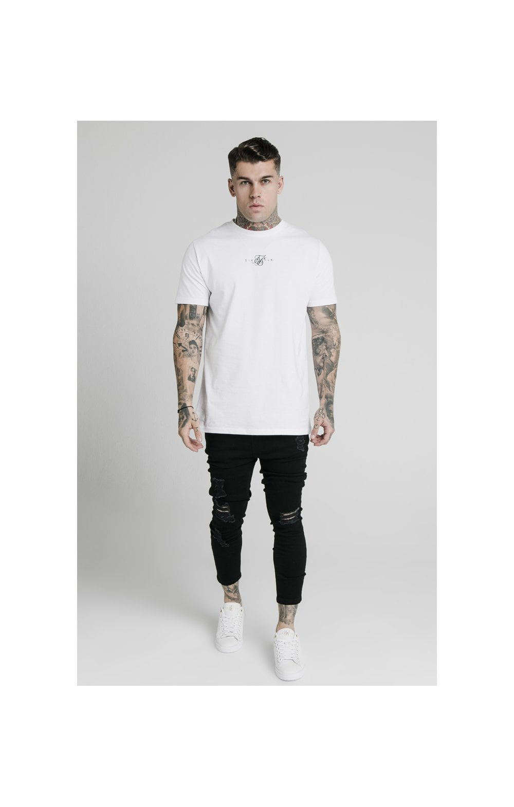 SikSilk Ultra Drop Crotch Denims - Black (1)
