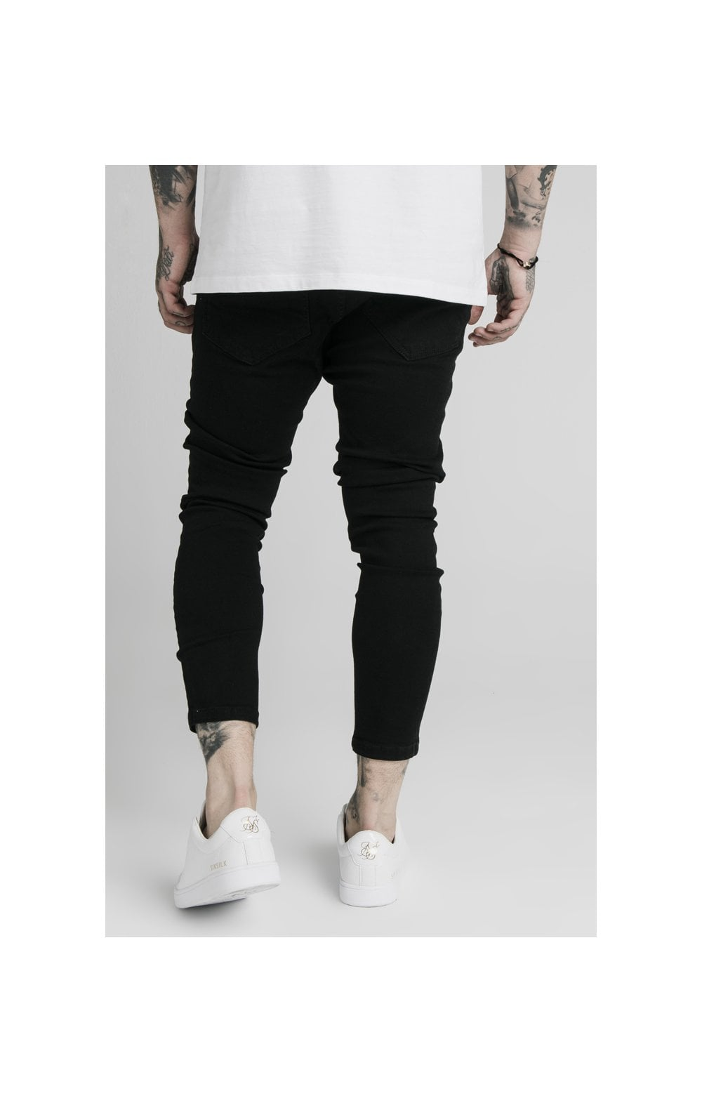 SikSilk Ultra Drop Crotch Denims - Black (5)