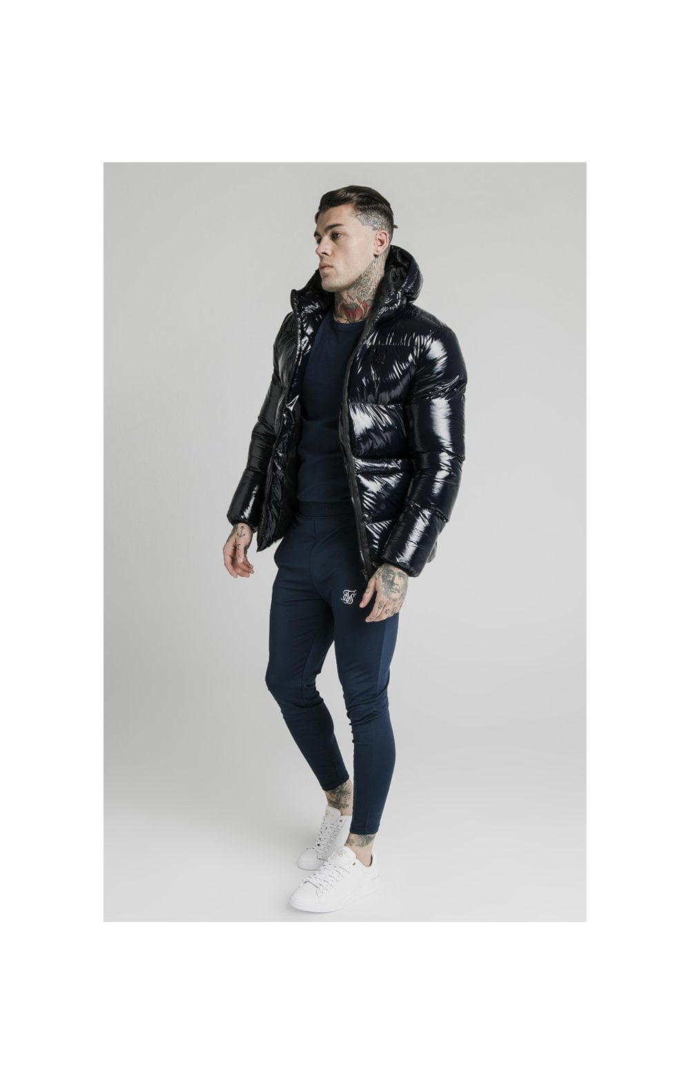 SikSilk Adapt Jacket - Navy