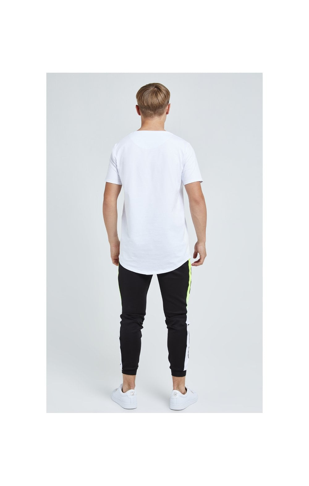 Load image into Gallery viewer, Illusive London Embossed Logo Tee - White (5)