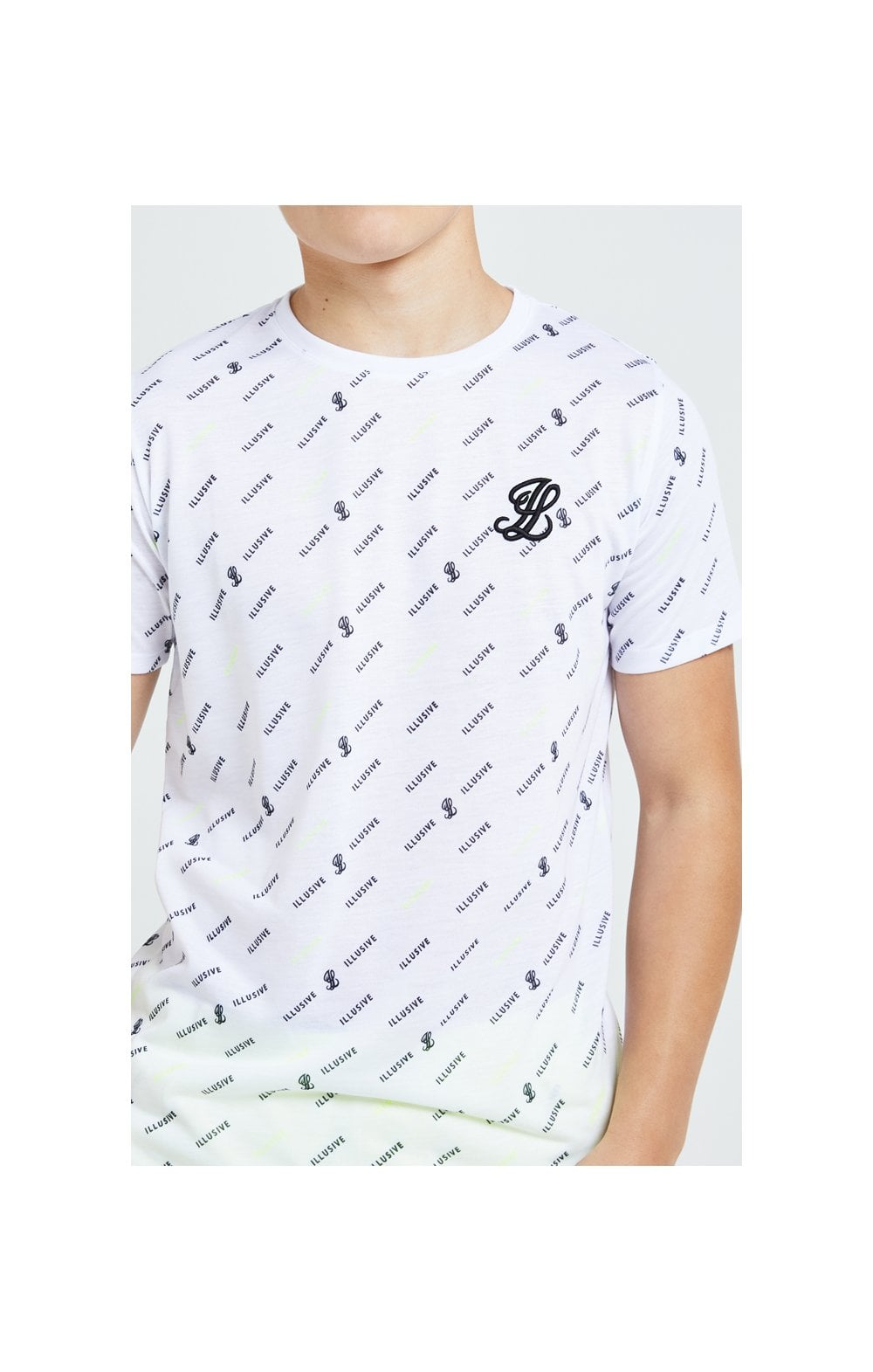 Illusive London All Over Print Tee - White (1)